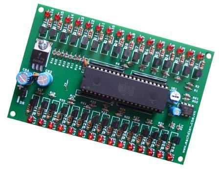 Mạch điều khiển Led quảng cáo 32 cổng  Mạch điều khiển 32 Led đơn  Mạch điều khiển 32 PWM